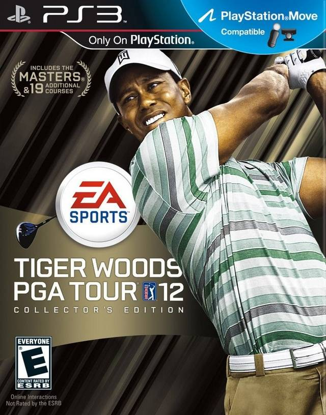 Tiger Woods PGA Tour 12: The Masters Collector's Edition (PS3)