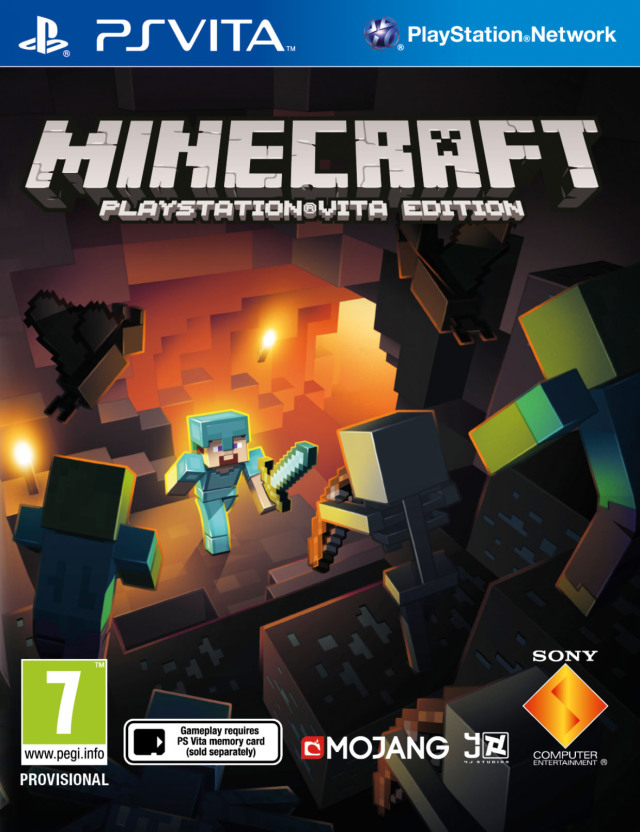 Minecraft: PlayStation Vita Edition (PSV)