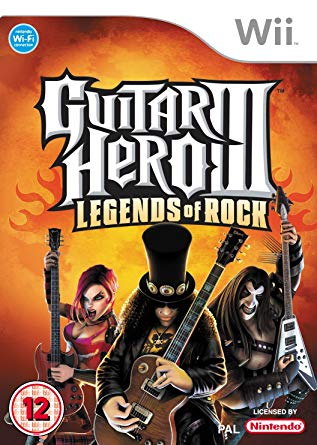 Guitar Hero III: Legends of Rock (Wii)