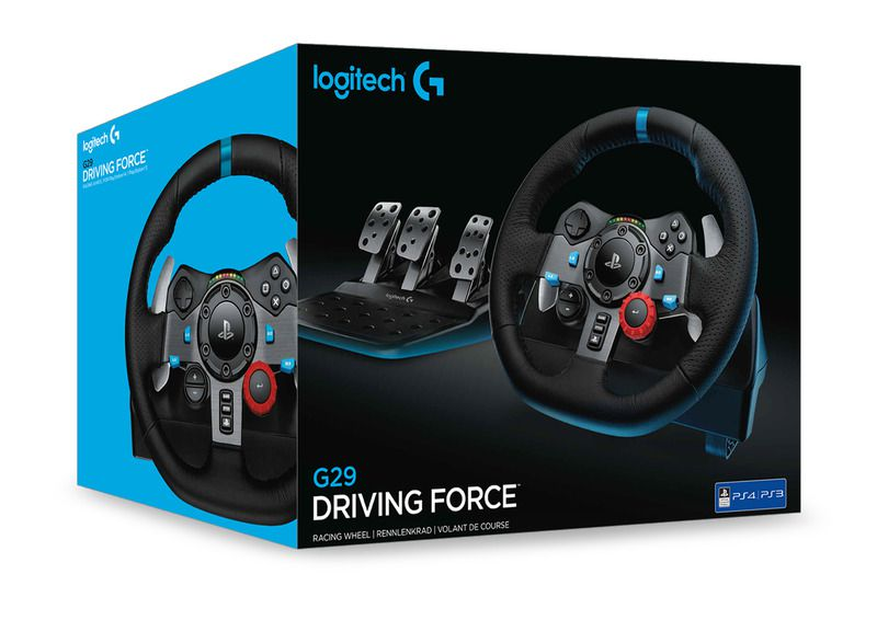 Logitech G29 Driving Force PS4/PS3/PC (n)