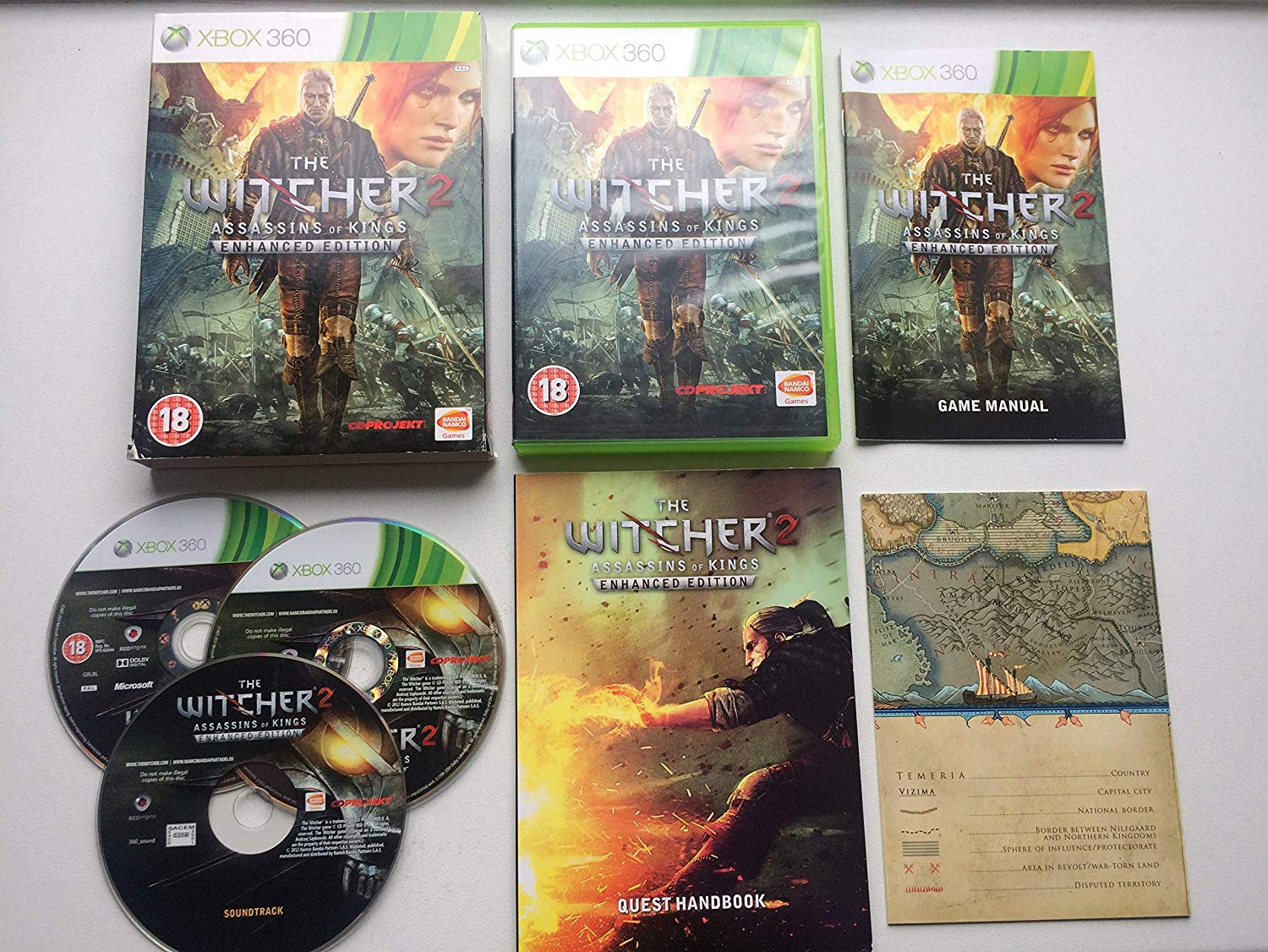 The Witcher 2: Assassins of Kings -  Enhanced Edition (Xbox 360)